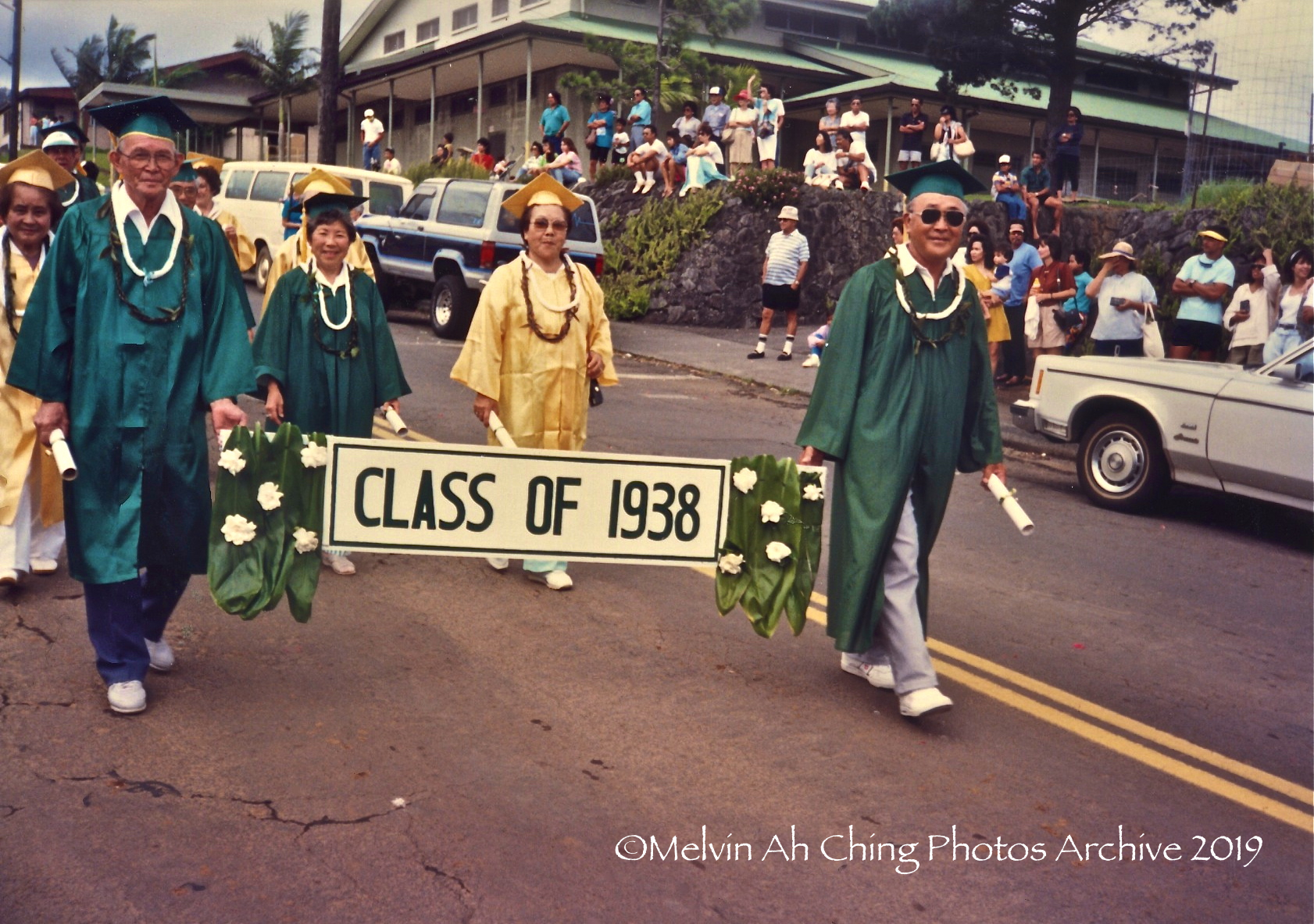 Honokaa School 100 Year Parade